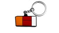 Nifty. Snpbcks® - MK1 Taillight Keychain | Red/Orange