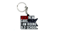 Nifty. Snpbcks® - F*ck New Cars Keychain
